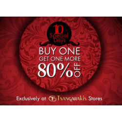 BUY ONE GET ONE MORE 80% OFF