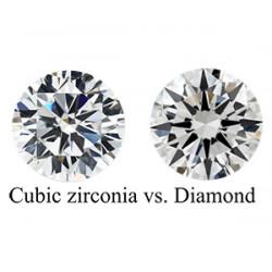 Κυβικό Ζιρκόνιο vs Διαμάντι