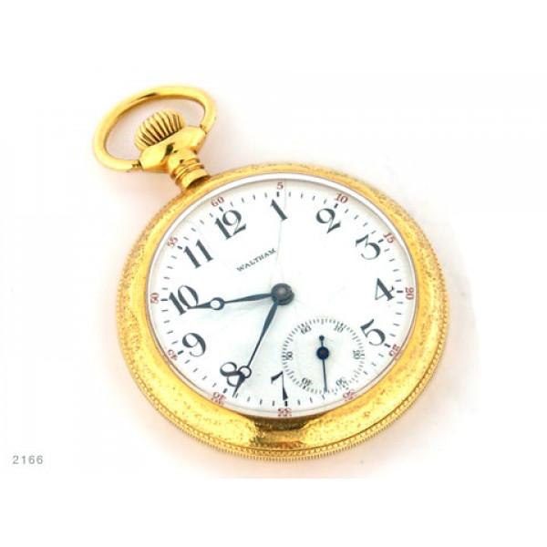 Ρολόι τσέπης επίχρυσο Brigthon, Waltham