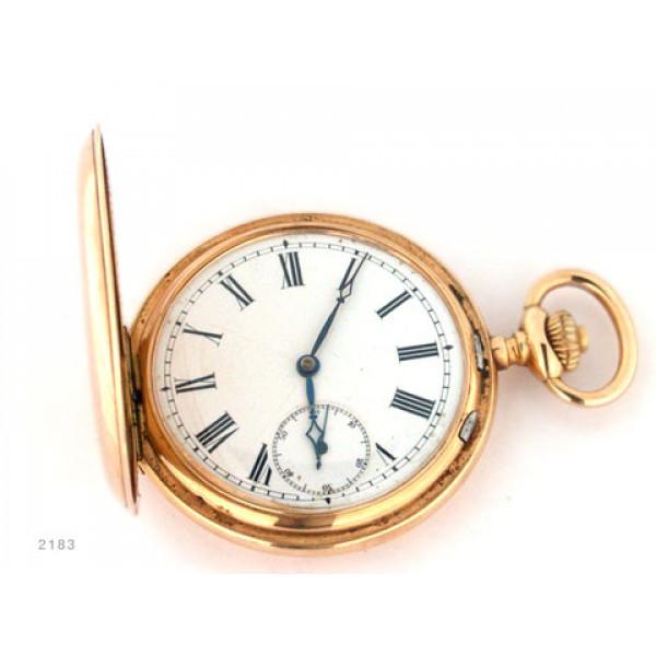 Κ14 Ρολόι τσέπης χρυσό με 3 καπάκια
