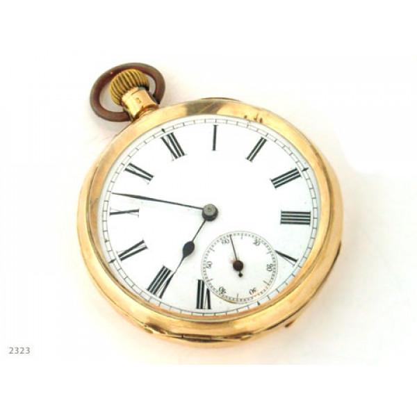 Χρυσό Ρολόι Τσέπης με Jewels
