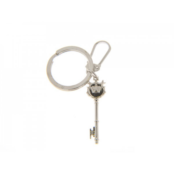 Μπρελόκ Κλειδί Αντίκα από Επιπλατινωμένο Ασήμι
