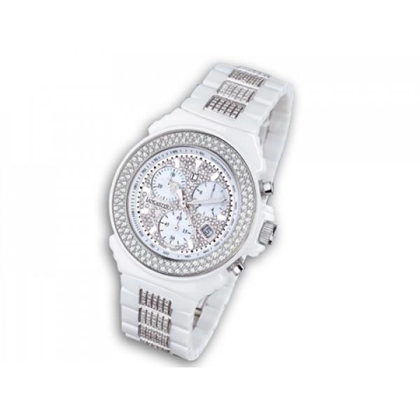 Ρολόι Lancaster με Μπριγιάν από High Tech Ceramic
