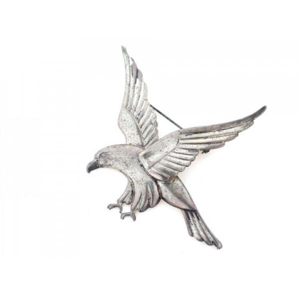 Καρφίτσα Coro σε σχέδιο Αετός από Ασήμι