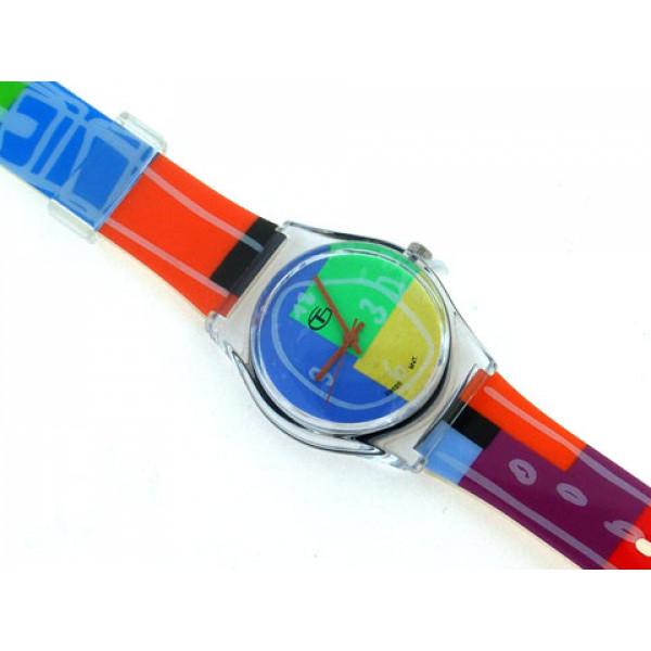 Πολύχρωμο Παιδικό Ρολόι GT Happy Collection