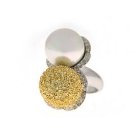 Δίχρωμο Δαχτυλίδι Sabrina Carrera