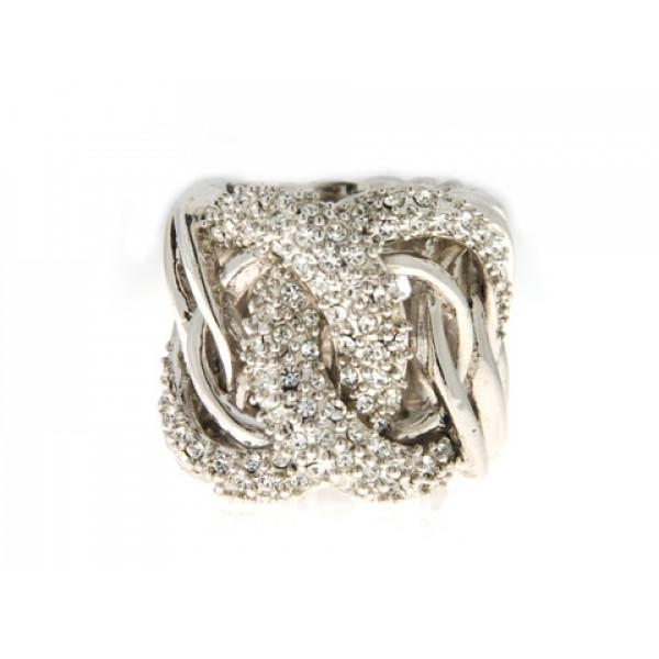 Δαχτυλίδι Sabrina Carrera με Λευκά Swarovski