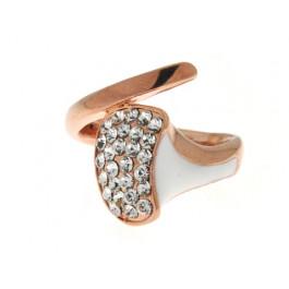 Ροζ Επιχρυσωμένο Minimal Δαχτυλίδι