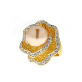 Επίχρυσο Δαχτυλίδι Sabrina Carrera