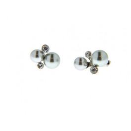 Σκουλαρίκια με Γκρι Πέρλες