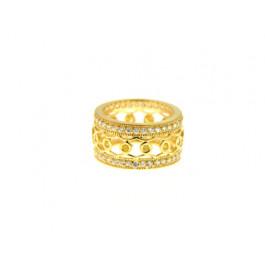 Επίχρυσο Δαχτυλίδι με Citrine