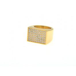 Επίχρυσο Δαχτυλίδι Σεβαλιέ