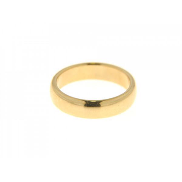 K18 Χρυσό Δαχτυλίδι Βέρα Tiffany & Co