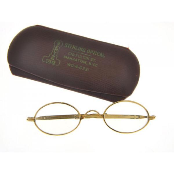 Βικτωριανά Γυαλιά Μυωπίας Gold Filled Συλλεκτικά. Συνοδεύονται από τη θήκη τους
