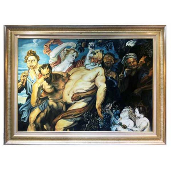 """Πίνακας με θέμα """"Σαμψών"""" Olaf Vendeker"""