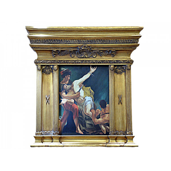 """Πίνακας """"Άντρας Αιχμάλωτος"""" του Fuentes"""