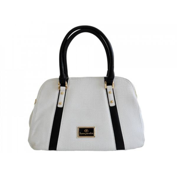Λευκή Τσάντα Χειρός GT Bags Collection
