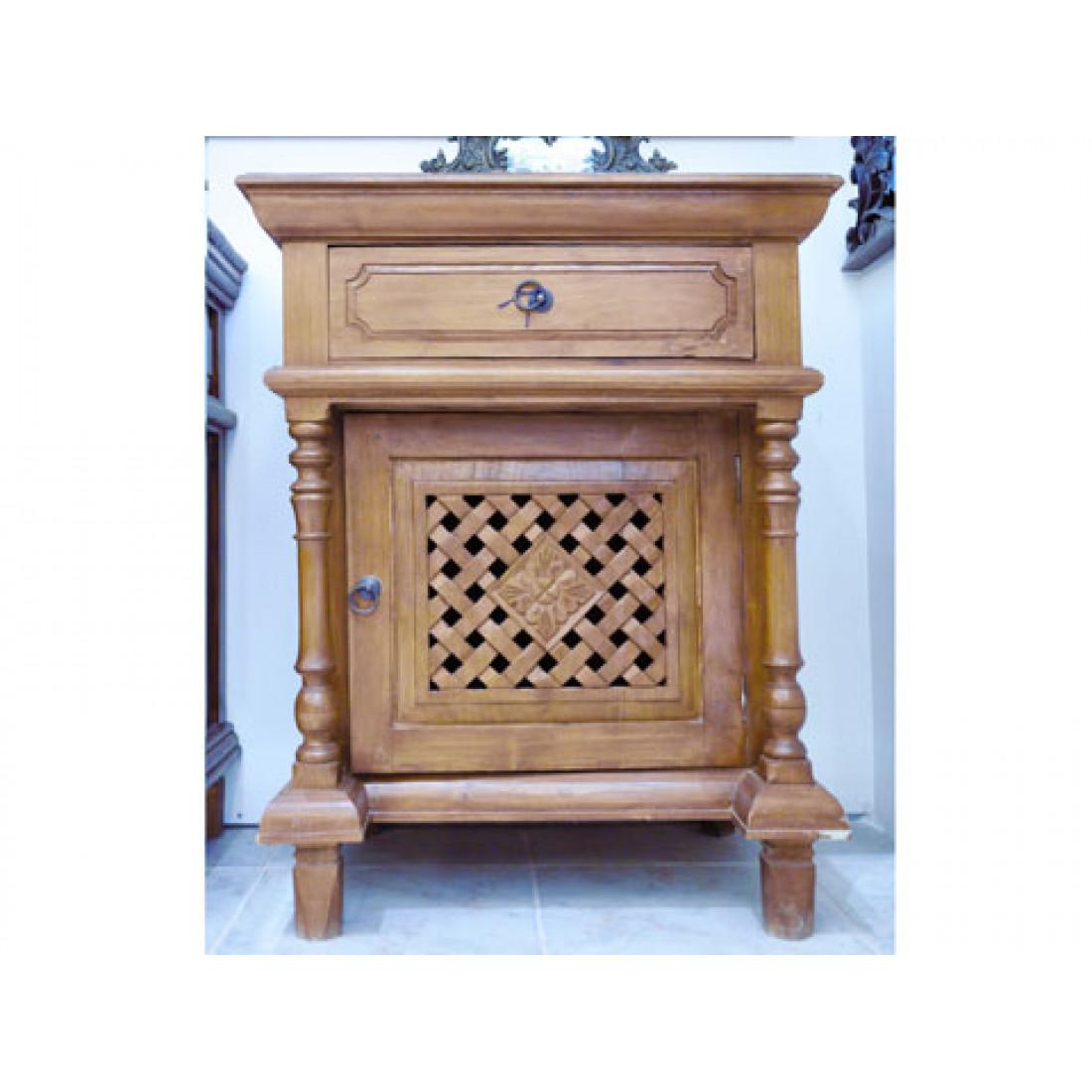 Bedside Table Teak Wood