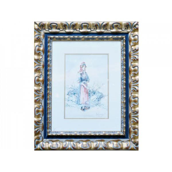 Πίνακας Aquarella του Μποκατσιάμπη