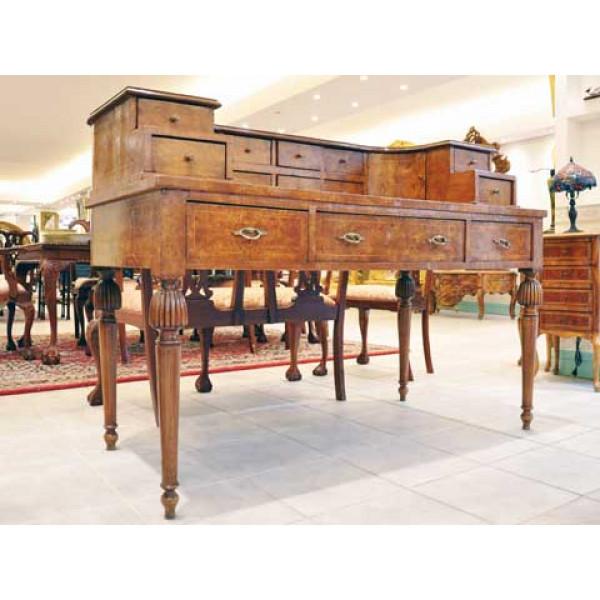 Γραφείο Σεκρεταίρ Μεγάλο από Ρίζα Ελιάς εποχής 1880-1890