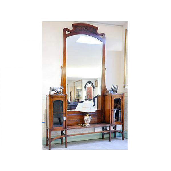 Κονσόλα-Καθρέφτης του 1850-1870 από Μαόνι