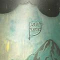 Βάζο Daum Nancy Νεότερης Περιόδου που απεικονίζει Χειμερινή Ορεινή Παράσταση