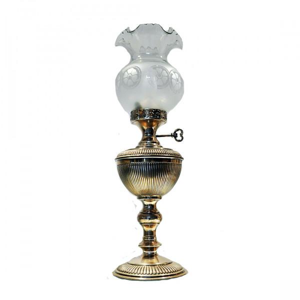 Επιτραπέζιο Φωτιστικό από Ασήμι 925 Ελληνικής Κατασκευής