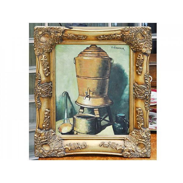 """Πίνακας ελαιγραφία """"Σκεύη"""" του O. VENDEKER"""