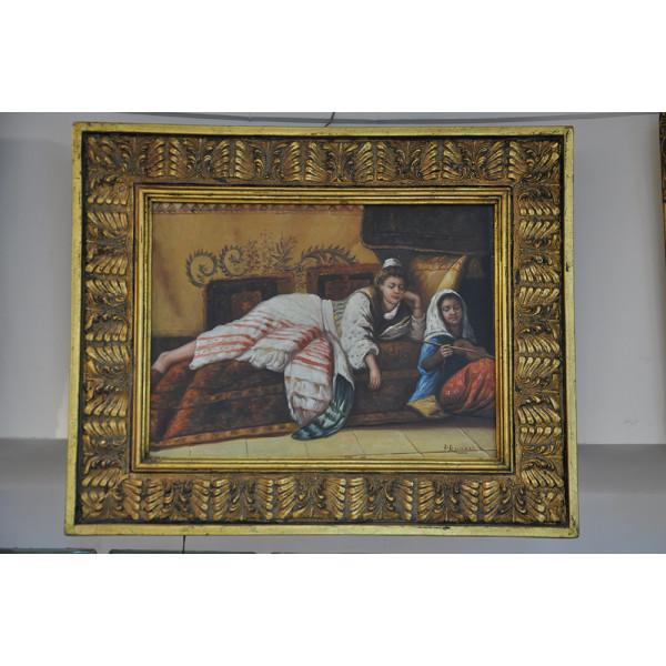 """Πίνακας """"Τουρκάλες"""" του P. Russel"""