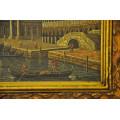 """Πίνακας Ελαιογραφία με Θέμα """"Βενετία"""""""