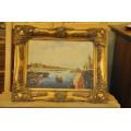 Πίνακας Ελαιογραφία Λιμάνι του D. Parker