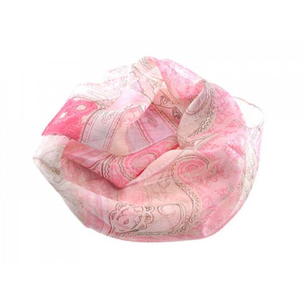 Ροζ Φουλάρι Λαχούρια