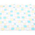 Ροζ Φουλάρι GT με Γαλάζια, Κίτρινα και Άσπρα Σχέδια
