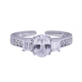 Ασημένιο Δαχτυλίδι Μίνιμαλ