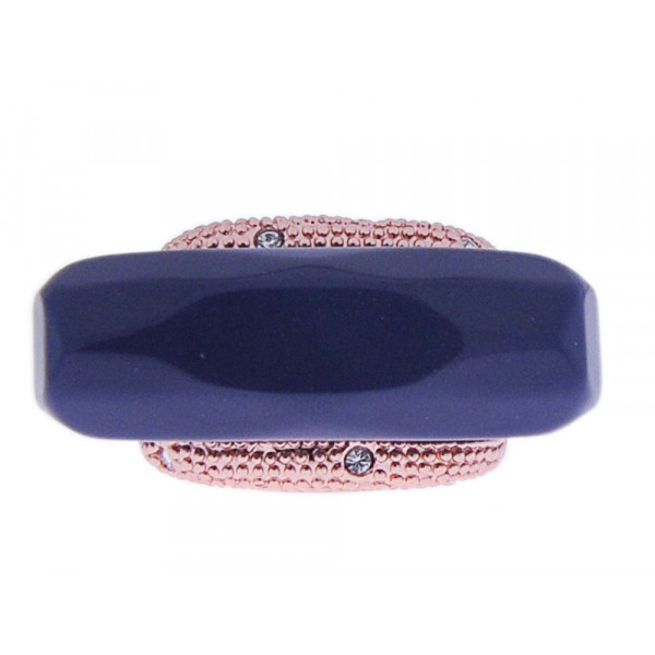 Ροζ Επιχρυσωμένο Δαχτυλίδι με Quartz