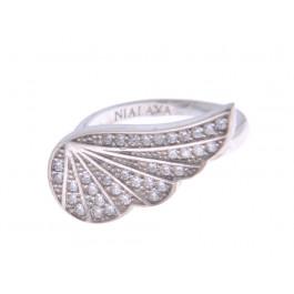 Ασημένιο Δαχτυλίδι Φτερό
