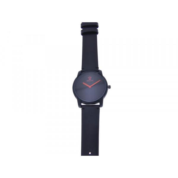 Μαύρο Ρολόι Stainless Steel Bellos
