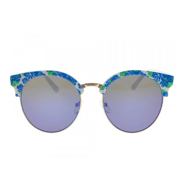 Φλοράλ Στρογγυλά Γυαλιά Ηλίου GT Diamond Clear Eyewear