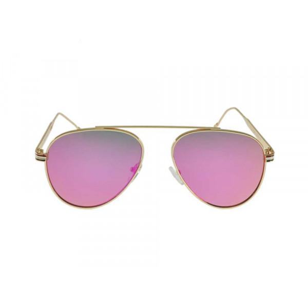 Γυαλιά Ηλίου Πιλότου με Φούξια Φακό