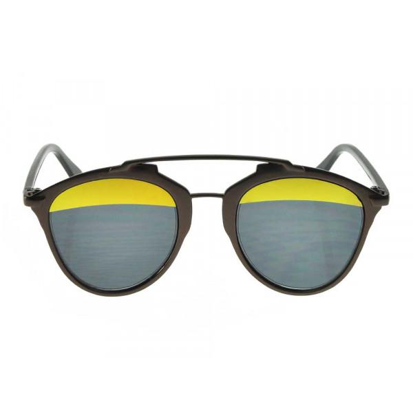 Γυαλιά Ηλίου με Μεικτό Σκελετό και Δίχρωμους Φακούς
