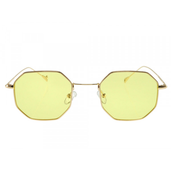 Γυαλιά Ηλίου Πολυγωνικά Lime