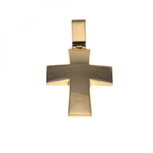 Minimal Χρυσός Σταυρός Κ14