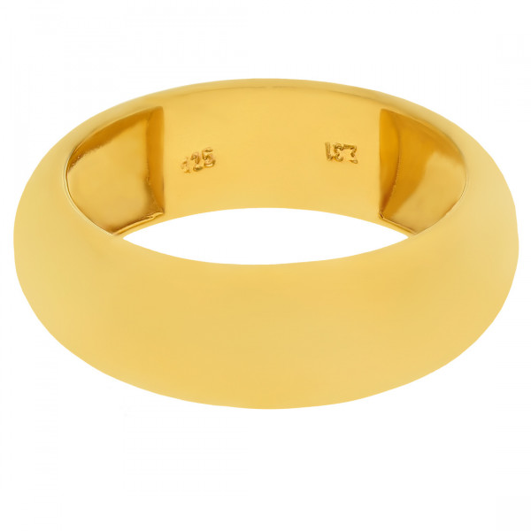 Δαχτυλίδι Βέρα από Επιχρυσωμένο Ασήμι