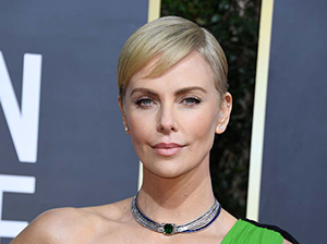 Charlize Theron at 2020 The Golden Globes