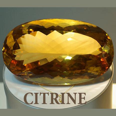 citrine malaga gemstone