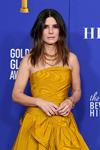 Sandra Bullock at the 2020 Golden Globes