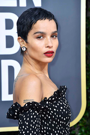 Zoe Kravitz at the 2020 Golden Globes